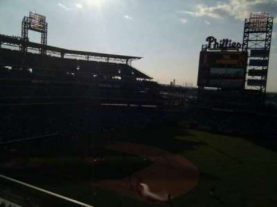 Citizens Bank Park, section: 312, row: 2, seat: 9