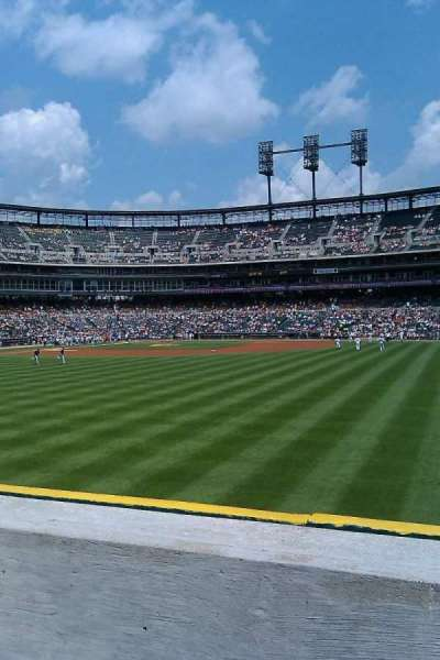 Comerica Park, section: 117, row: g, seat: 1