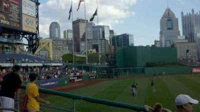 PNC Park, section: bleacher