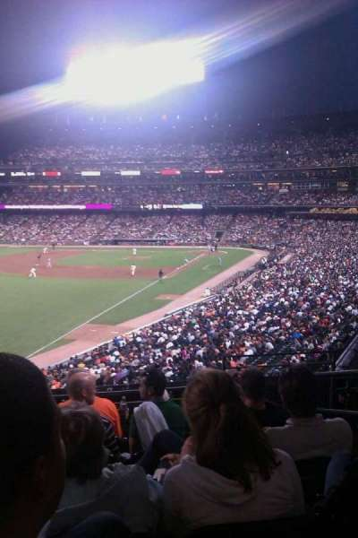 AT&T Park, section: 233, row: f, seat: 3