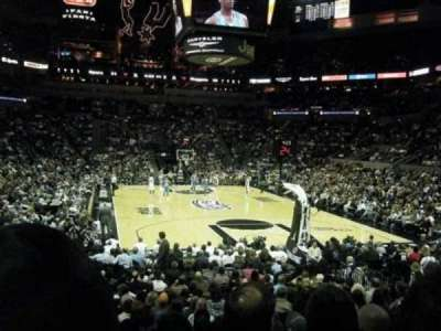 At&T Center, section: 101, row: 20, seat: 18