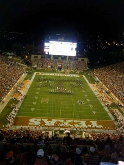 Texas Memorial Stadium, section: 116