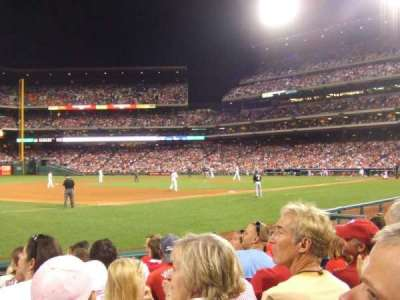 Citizens Bank Park, section: 134, row: 8, seat: 11