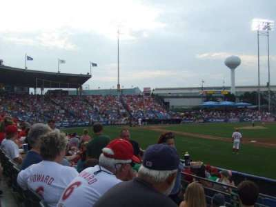 FirstEnergy Stadium (Reading), section: Green D, row: 5, seat: 1