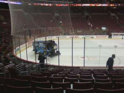 Wells Fargo Center, section: 111, row: 12, seat: 6