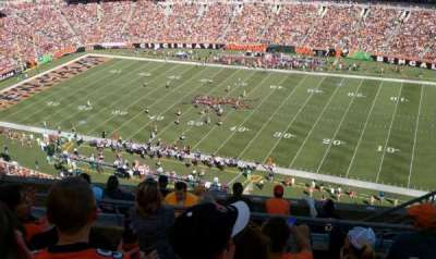 Paul Brown Stadium, section: 307, row: 2, seat: 4