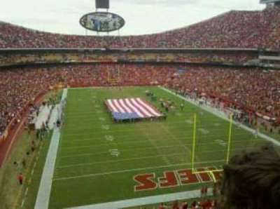Arrowhead Stadium section 337
