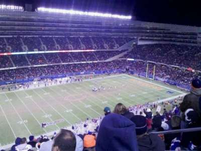 Soldier Field, section: 441, row: 20, seat: 20