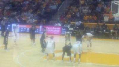 Thompson-Boling Arena, section: 119, row: 12, seat: 9