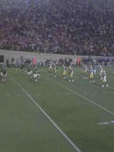 Vanderbilt Stadium, section: A, row: 12, seat: 33