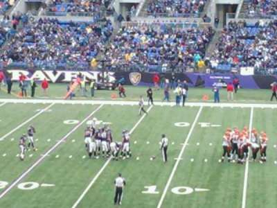 M&T Bank Stadium section 150