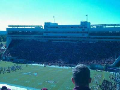 Lane Stadium, section: 21