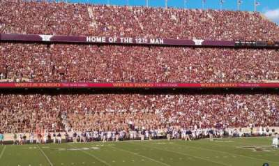 Kyle Field, section: 120, row: 14