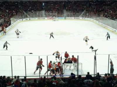United Center, section: L46