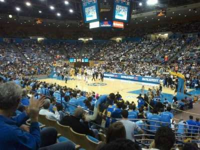 Pauley Pavilion section 112