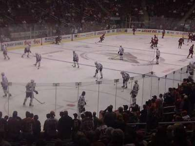 Gila River Arena, section: 104, row: t, seat: 18