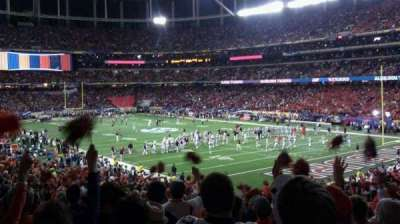 Georgia Dome section 109