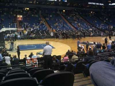 Target Center section 133