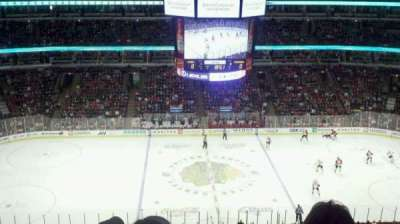 United Center section 318