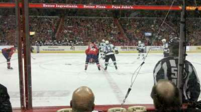 Verizon Center, section: 111, row: A, seat: 8