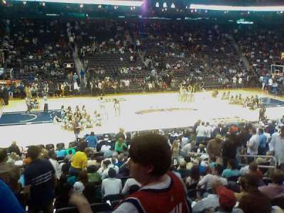 Philips Arena, section: 116, row: S