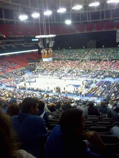 Georgia Dome, section: 231, row: 15, seat: 5