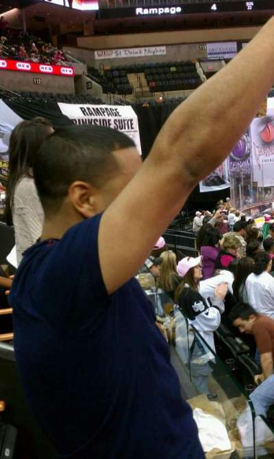 AT&T Center, section: Suite 14, row: 14, seat: 1