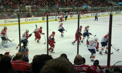PNC Arena section 124
