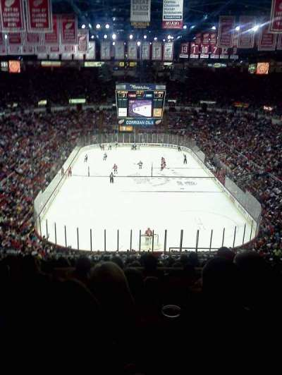 Joe Louis Arena, section: 201, row: 19, seat: 5