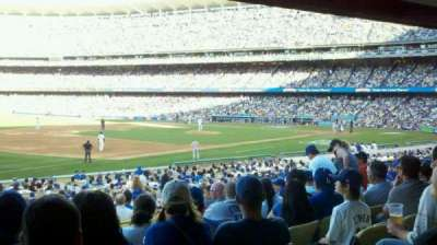 Dodger Stadium, section: 35FD, row: W, seat: 5