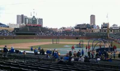 Wrigley Field, section: 117, row: 11, seat: 103