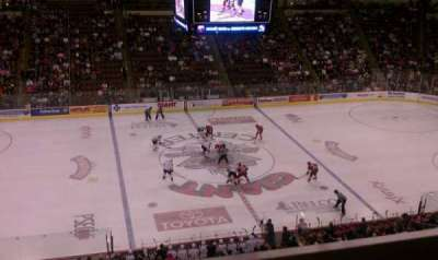 Giant Center, section: 219, row: A, seat: 4
