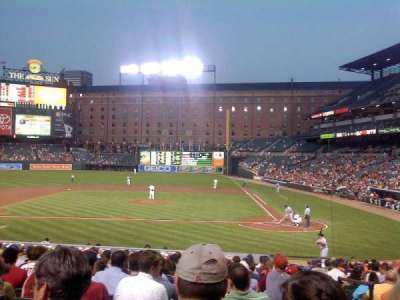 Oriole Park at Camden Yards, section: 48, row: 19, seat: 1,2,3,4