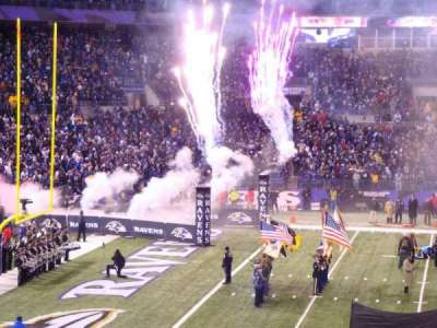 M&T Bank Stadium section 102
