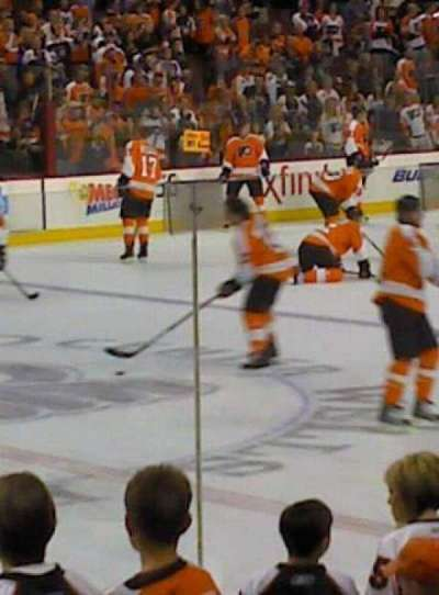 Wells Fargo Center section 112