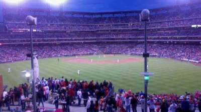 Citizens Bank Park, section: 427, row: 2, seat: 8
