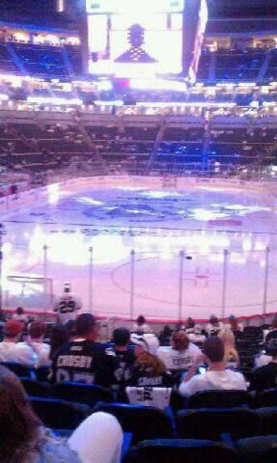 PPG Paints Arena, section: 117, row: T, seat: 17