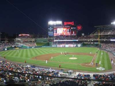 Nationals Park section 210