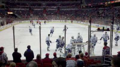 Verizon Center, section: 105, row: K, seat: 6