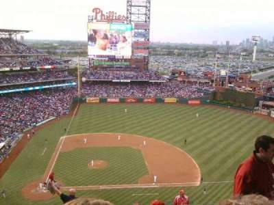 Citizens Bank Park, section: 416, row: 13, seat: 7