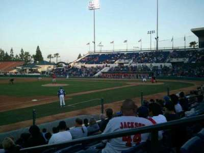 LoanMart Field, section: FB16 , row: J, seat: 2