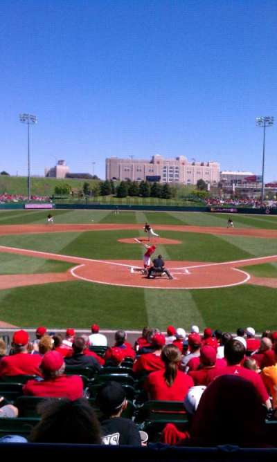 Haymarket Park, section: 102 , row: 5, seat: 12
