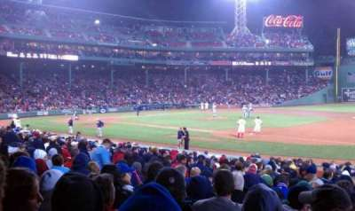Fenway Park section Loge Box 105