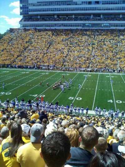 Kinnick Stadium section 104