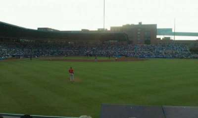 Durham Bulls Athletic Park, section: 130, row: d, seat: 6
