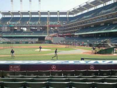 Progressive Field, section: 160, row: N, seat: 7