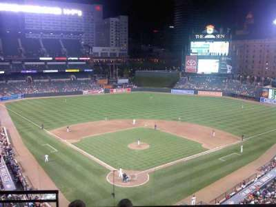 Oriole Park at Camden Yards, section: 334, row: 4, seat: 10