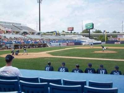 Frawley Stadium, section: 9, row: 5, seat: 1
