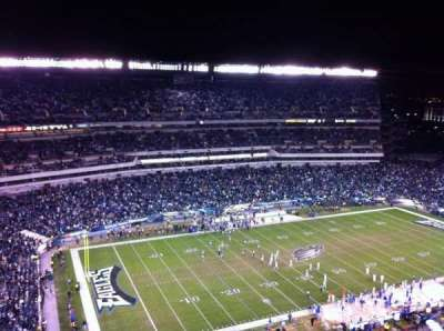 Lincoln Financial Field section 221