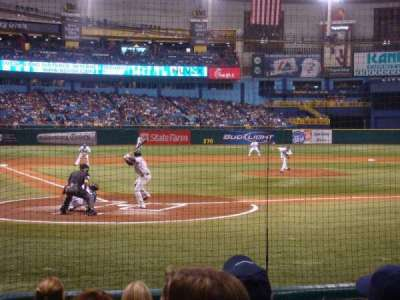 Tropicana Field section 108